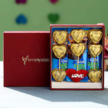 Heart Chocolate Box: Chocolate Gifts in India