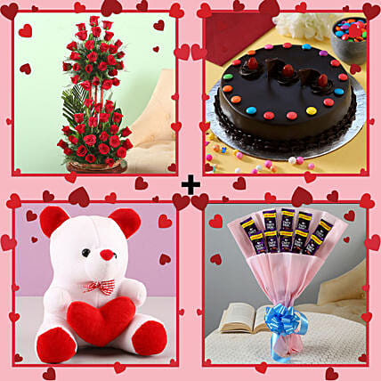 Grand Valentine's Surprise Combo: Flower Combos