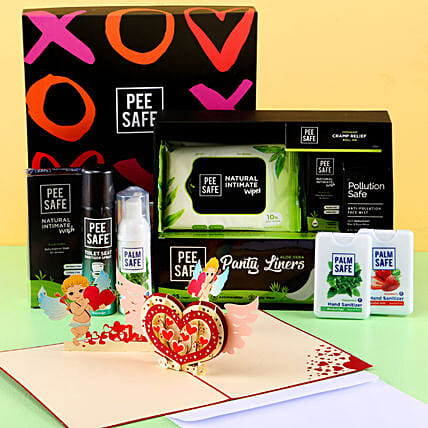 Pee Safe Hamper For Women: Gift Hampers