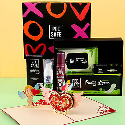 Special Pee Safe Hamper For Women: Send Gift Hampers