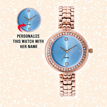 Personalised Blingy Watch For Her: Personalised Watches