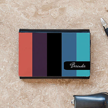 Personalised Business Card Case: Personalised Stationery