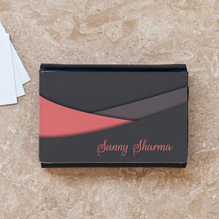 Personalised Name Business Card Case: Personalised Stationery