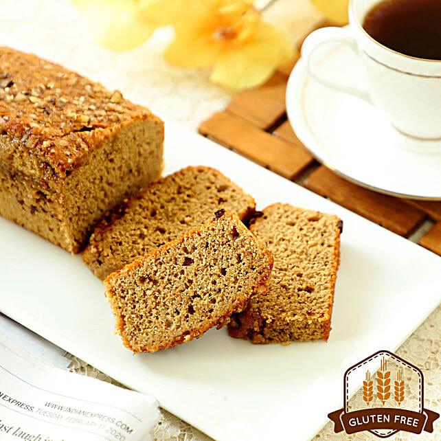 Sugar Free & Gluten Free Vanilla Mocha Dry Cake: Buy Eggless Cakes