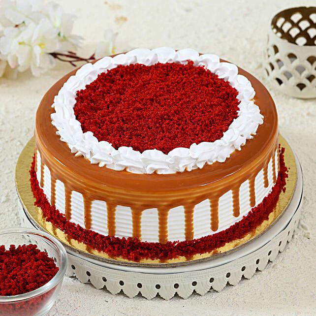 Scrumptious Red Velvet Cake: Red Velvet Cakes Delivery