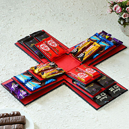 Exlposion Of Chocolates: Gift for Father's Day