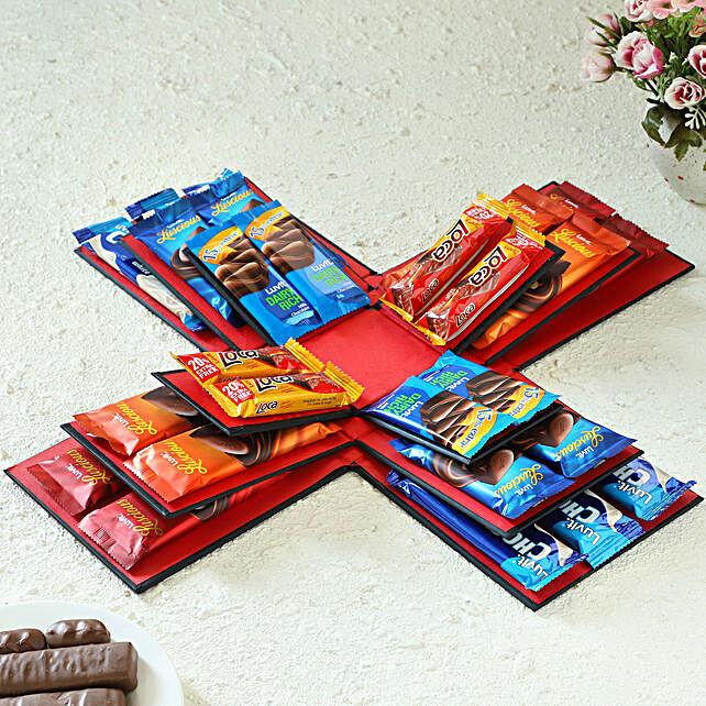 LuvIt Chocolates Explosion Box: Chocolates Shopping India
