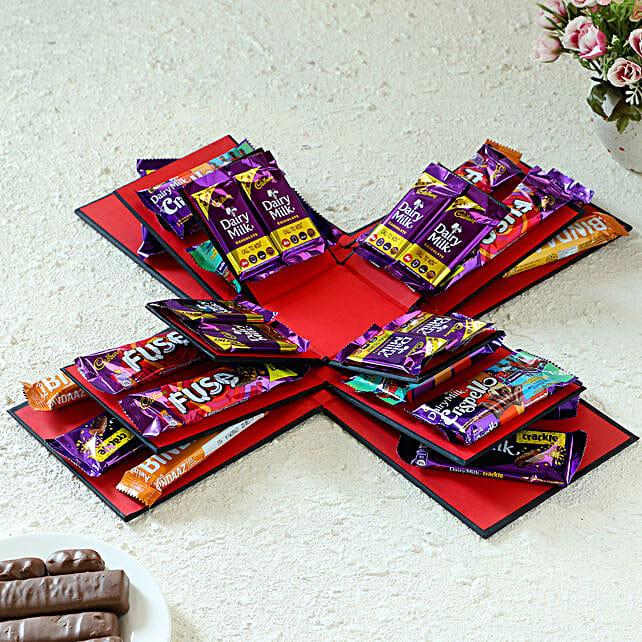 Sweet Treats Explosion Box:
