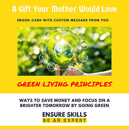 Green Living Principles E-Book Card: Gifts for Mothers Day