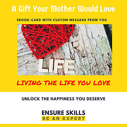 Living The Life E-Book Card: Mothers Day Gifts