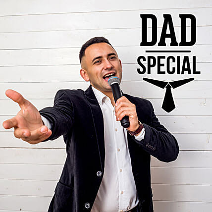 For Dad Personalised Poetry on Video Call: Gift for Father's Day