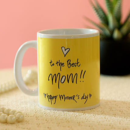 Best Mom Printed Mug: Gifts for Mothers Day