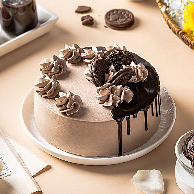 Chocolate Caramel Fudge Cake: Order Cakes