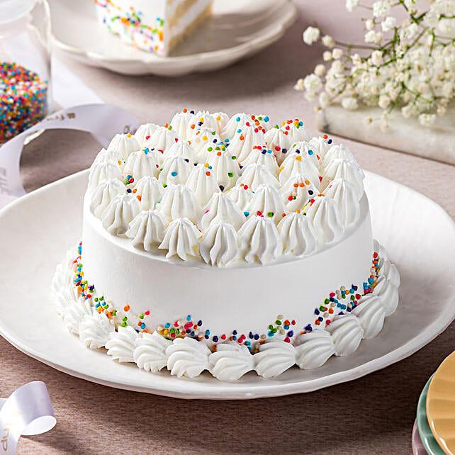 Vanilla Buttercream Cake: Order Cakes