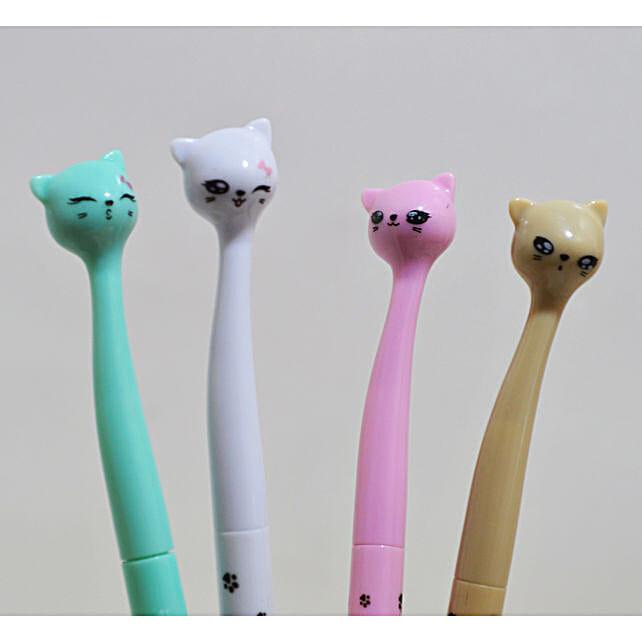 Cat Ink Gel Pen: Holi Gifts
