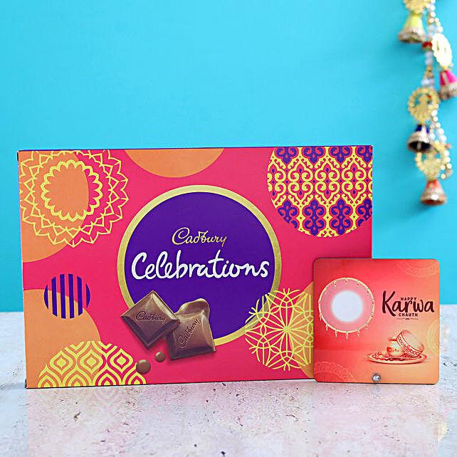 Karwa Chauth Table Top And Cadbury Celebrations: Gift For Karwa Chauth
