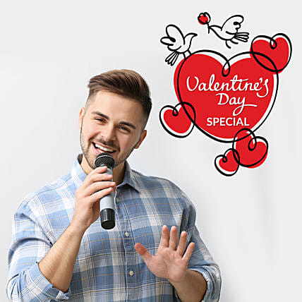 Valentine's Day Special Personalised Poetry On Video Call: Valentines Day Gifts