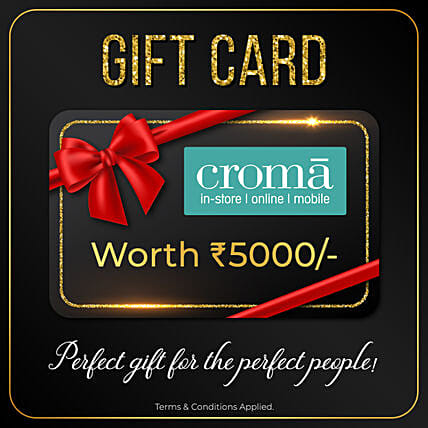 Croma Gift Card- 5000 Rs: Gift Cards