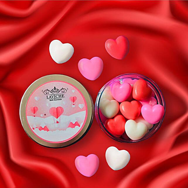 Mini Heart Soap Box: Valentine Gifts