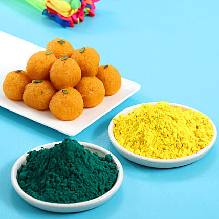 Laddoo And Gulal: Holi Gifts