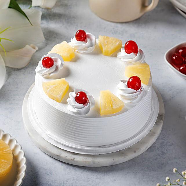 Pineapple Cake: Send Holi Gifts