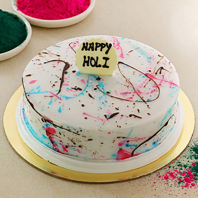 Let's Play Holi Cake: Send Holi Gifts