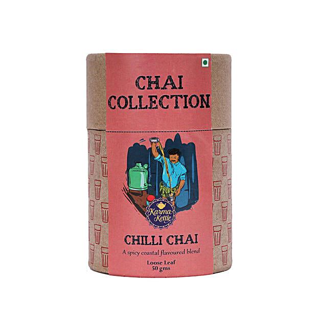 Karma Kettle Coastal Flavoured Chilli Chai Tea: Holi Gifts