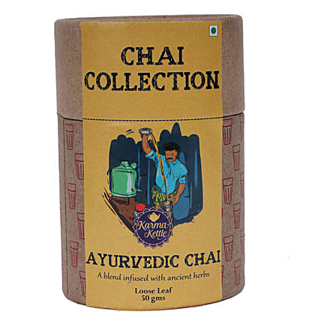 Karma Kettle Refreshing & Herbal Ayurvedic Tea: Send Holi Gifts