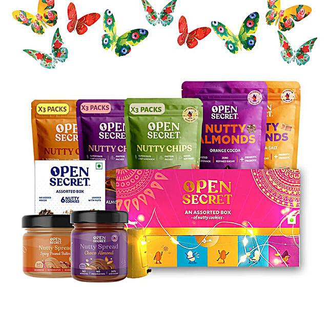 Open Secret Nutty Chips Premium Gift Hamper: Holi Gifts