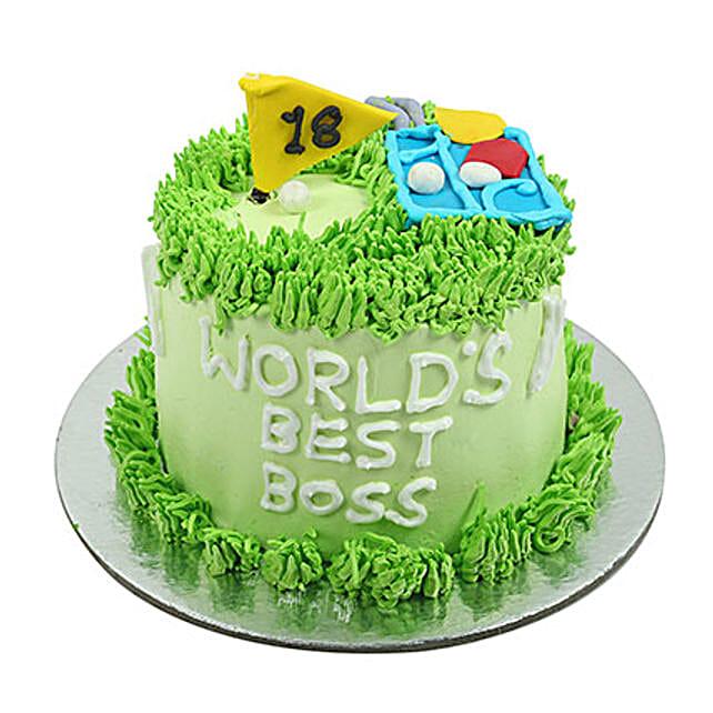 Worlds Best Boss Cake: Designer Cakes