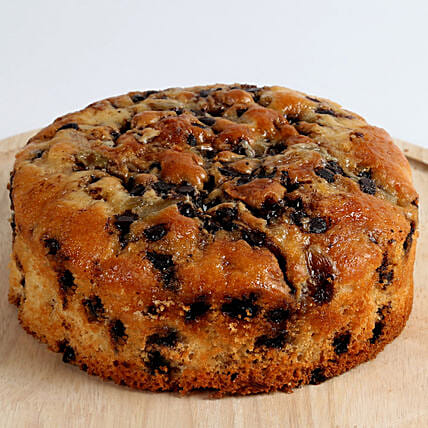 Choco Chips & Raisins Dry Cake: Cake Delivery in Burhanpur