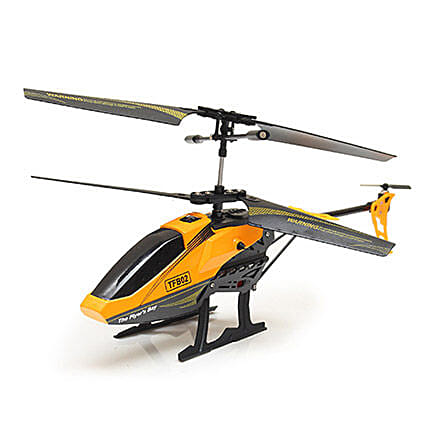 Yellow Digitally Proportionate Helicopter: Kids Toys & Games