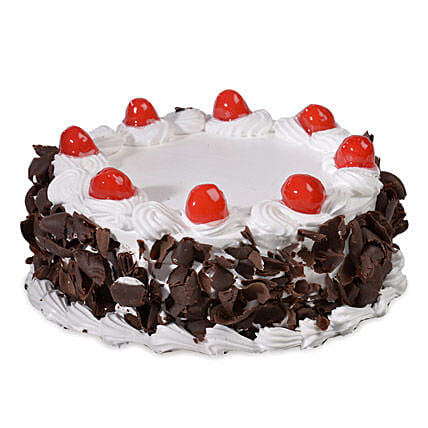 Yummy Black Forest Cake: Hug Day Gifts