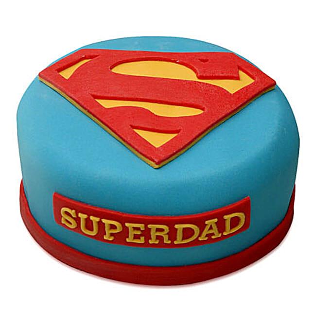 Yummy Super Dad Special Cake: Designer Cakes