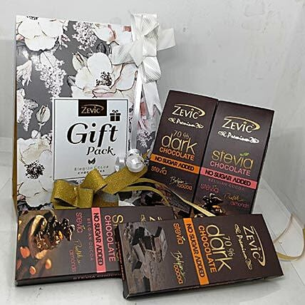 Zevic Assorted Stevia Chocolates: Thanksgiving Day Gifts