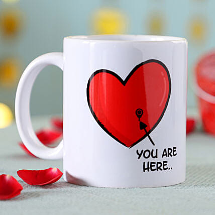 You Are My Heart Mug: Send Mugs to Malaysia