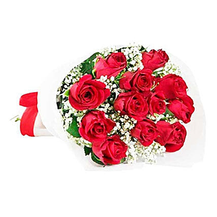 Classic Red Roses: Send Flowers to Mauritius
