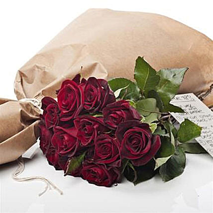 Market Fresh Red Roses: Flower Delivery New Zealand