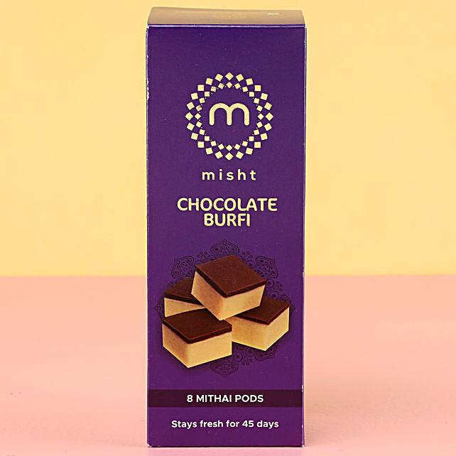 Misht Chocolate Burfi: Oman Gift Delivery