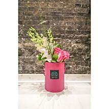 Joyful Pink Box Floral Arrangement