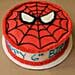 Spiderman Mask Birthday Cake Half kg Vanilla