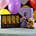 Online Sugar Free Dark Chocolate& Teddy Bear