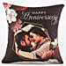 Personalised Anniversary Greetings Cushion