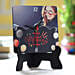 online printed table clock for bday