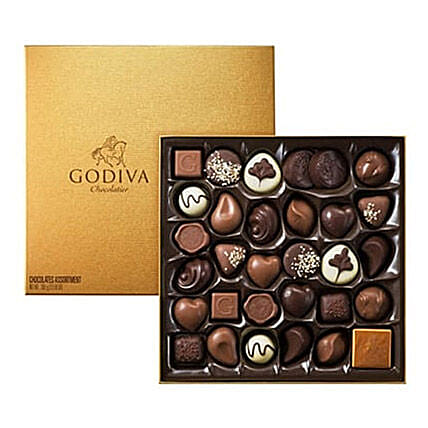 Chocolate Box By Godiva 34: Bhai Dooj Gifts to Saudi Arabia
