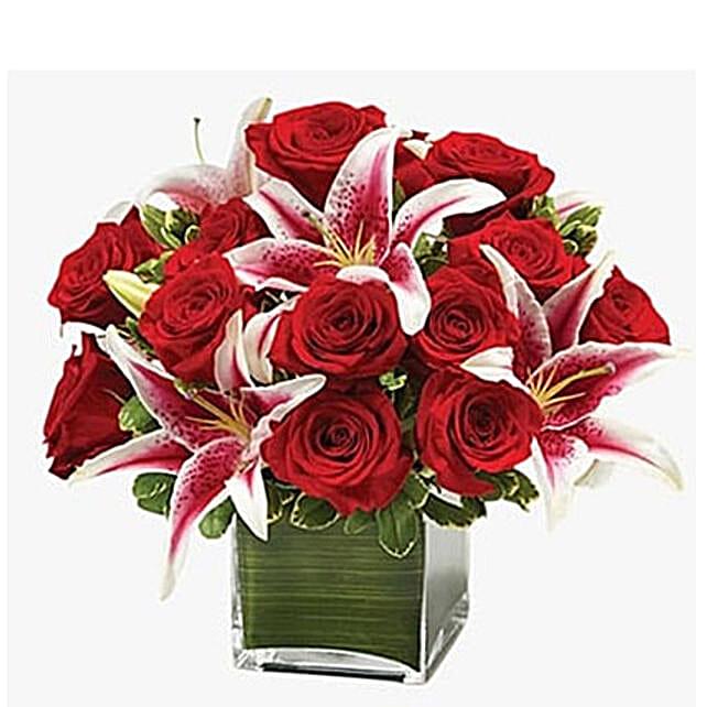 Red Romance: Lilies to Saudi Arabia