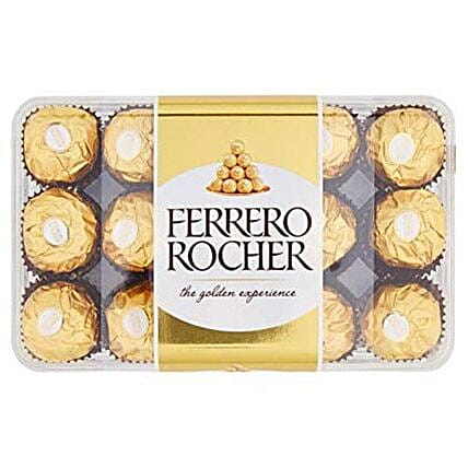 Box Of Ferrero Rocher Chocolates: Bhai Dooj Gifts to Saudi Arabia