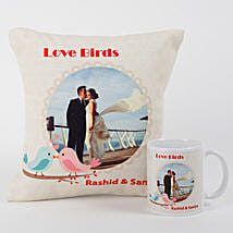 Love Birds Personalized Combo