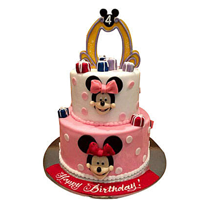 Cartoon Minnie Cake: Minnie Mouse Cakes in UAE