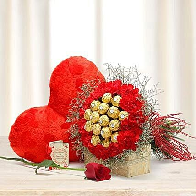 Choco Carnations: Send Flowers N Chocolates to UAE